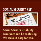 social security representative